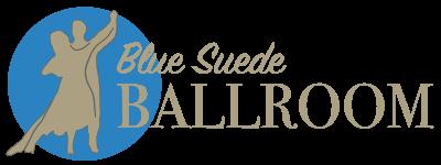Blue Suede Ballroom Logo